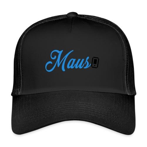 Hoesje MAUS 8Bit Blauw - Trucker Cap