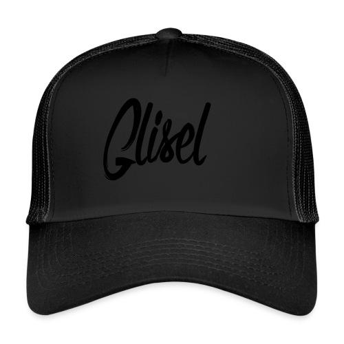 Glisel Logo schwarz transparent - Trucker Cap