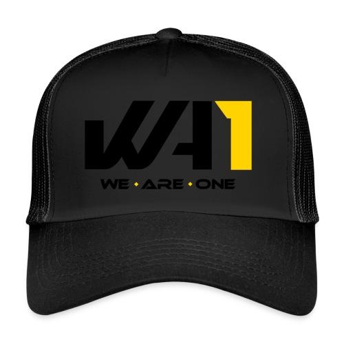Wir sind eins (schwarze Schrift) - Trucker Cap