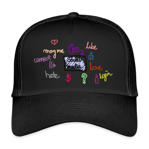 social media - Trucker Cap