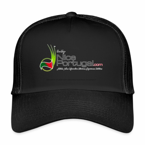 NicePortugal.com Logo - Trucker Cap