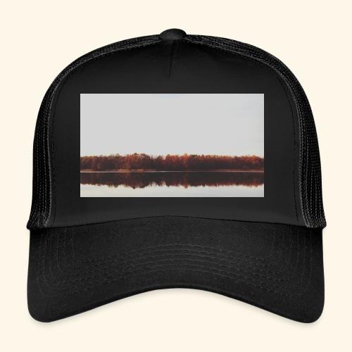 Jesienne jezioro - Trucker Cap