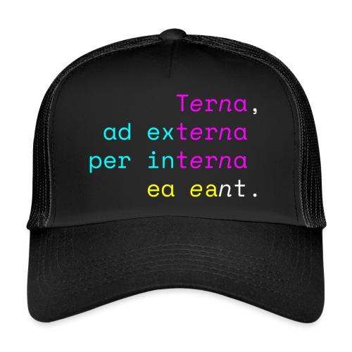 Terna Nigra - Trucker Cap