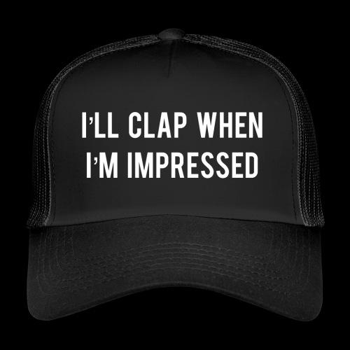 Impressed 1 White - Trucker Cap