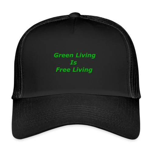 Green Living - Trucker Cap