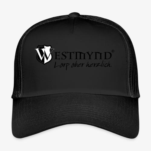 Westmynd - Larp aber herzlich SCHWARZ - Trucker Cap