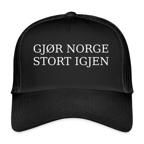 Gjør Norge stort igjen - Trucker Cap