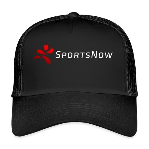 SportsNow-Logo mit weisser Schrift - Trucker Cap