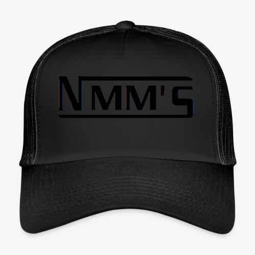 logo black - Gorra de camionero