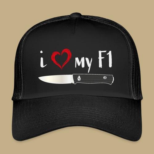 I Love My F1 - Trucker Cap