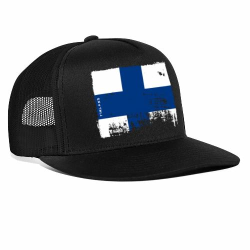 Suomen lippu, Finnish flag T-shirts 151 Products - Trucker Cap