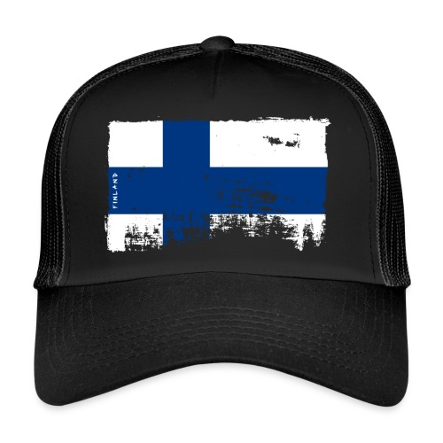 Suomen lippu, Finnish flag T-shirts 151 Products - Trucker Cap