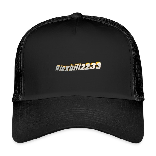Alexhill2233 Logo - Trucker Cap