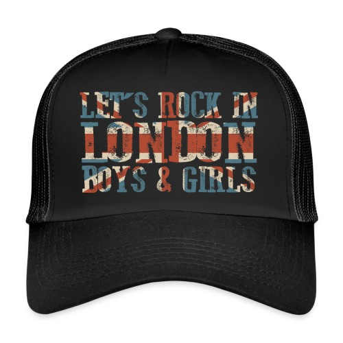 LET'S ROCK IN LONDON - Trucker Cap