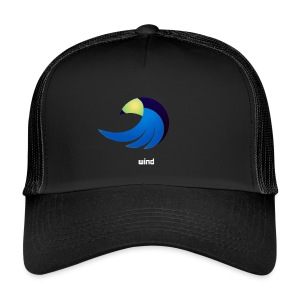 eagle by wind - Trucker Cap