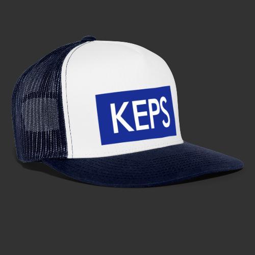 BLÅVITT KEPS - Trucker Cap