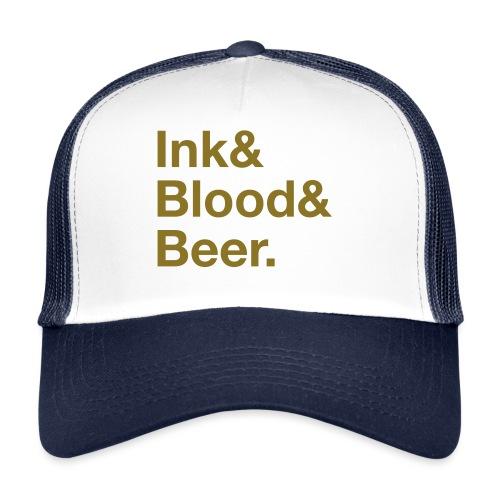 Scritta_InkBloodBeer_noha - Trucker Cap