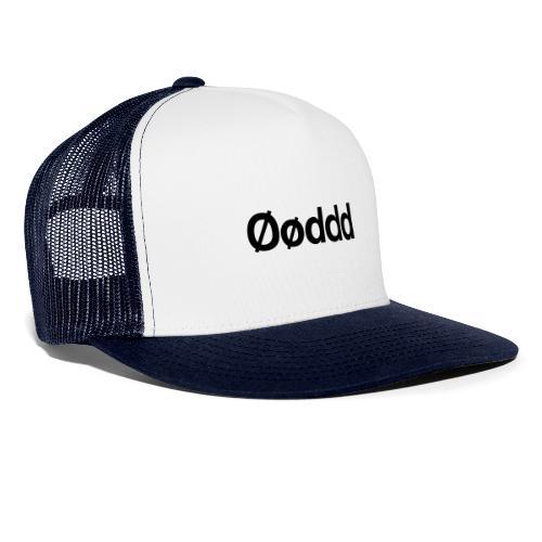 Øøddd (sort skrift) - Trucker Cap