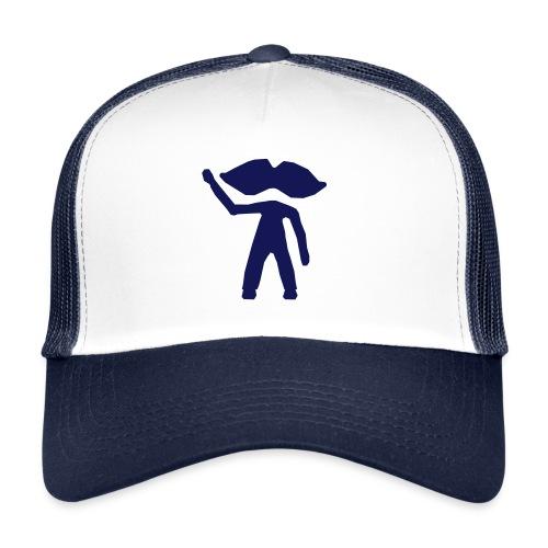personnage bleu - Trucker Cap