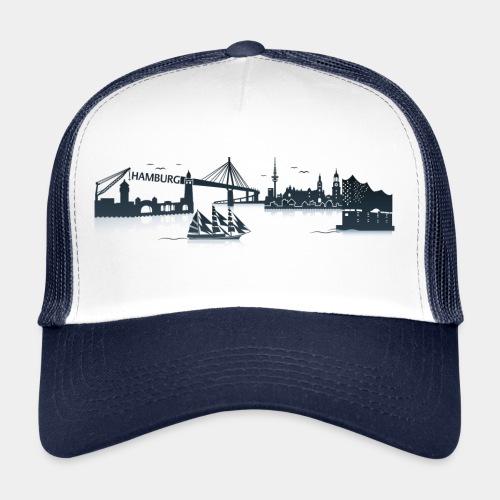 Hamburg Skyline - Trucker Cap