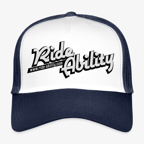 RideAbility classic logo - Trucker Cap