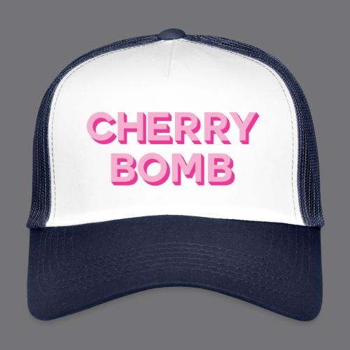 CHERRY BOMB Tee Shirts - Trucker Cap