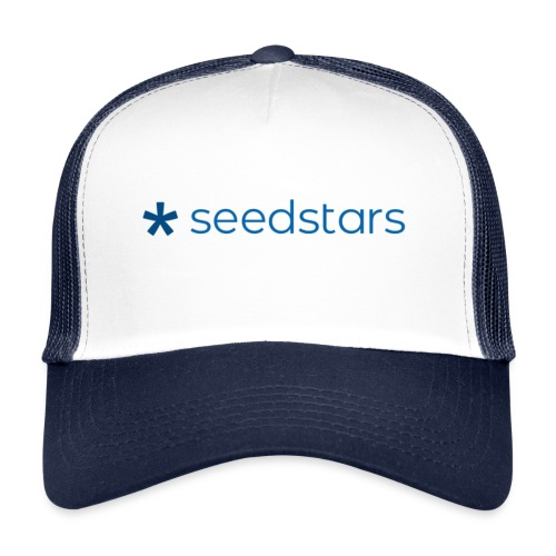 seedstars logo blue - Trucker Cap