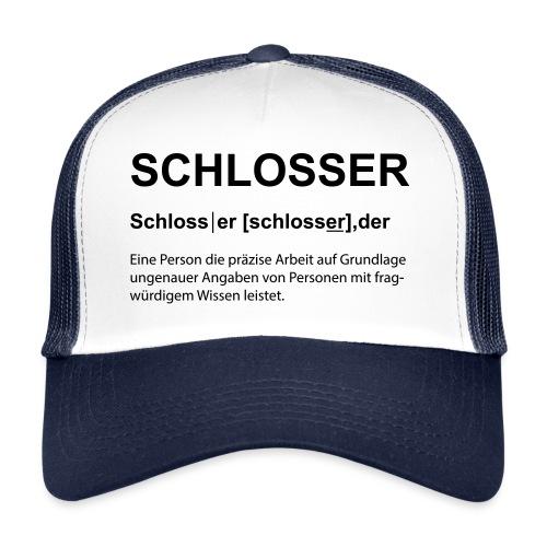 Schlosser Bezeichnung - Trucker Cap
