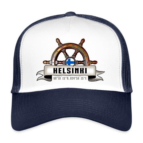 Helsinki Ruori - Merelliset tekstiilit ja lahjat - Trucker Cap