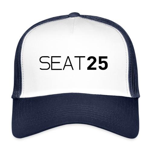 Seat25 Logo Dark - Trucker Cap