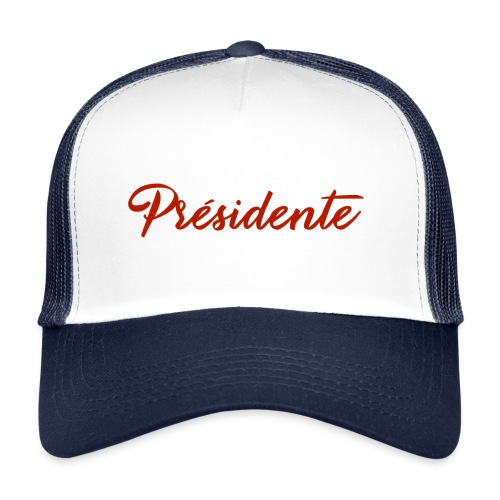 presidente rouge - Trucker Cap