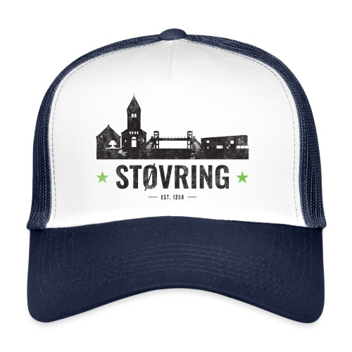 Støvring City Black Green - Trucker Cap