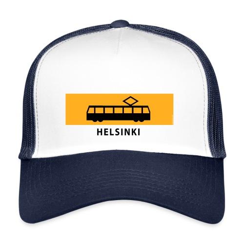 RATIKKA PYSÄKKI HELSINKI T-paidat ja lahjatuotteet - Trucker Cap