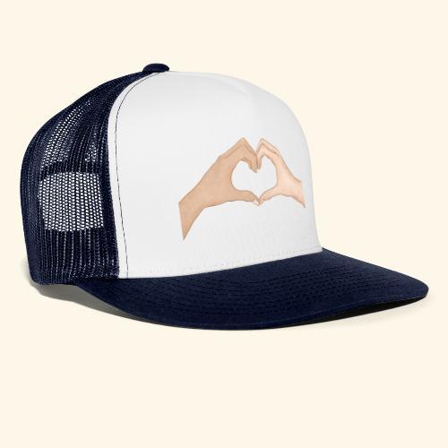 Mains Coeur Amour - Love hands - Trucker Cap