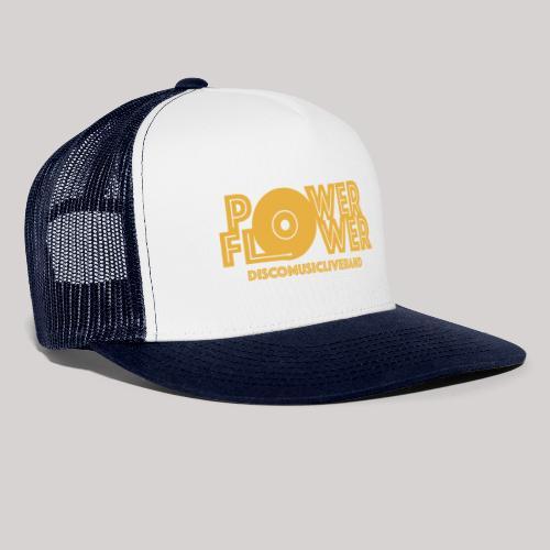 logo def PF 1colore giallo - Trucker Cap
