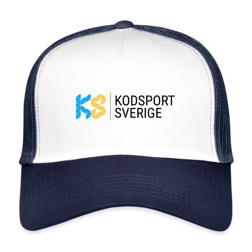 Kodsport logotyp - svart text - Trucker Cap