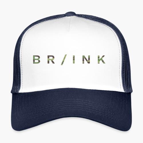 BR/INK Camo Logo - Trucker Cap
