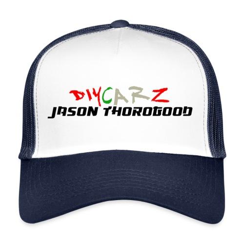 DIYCARZ-JASON THOROGOOD BRAND MERCH - Trucker Cap