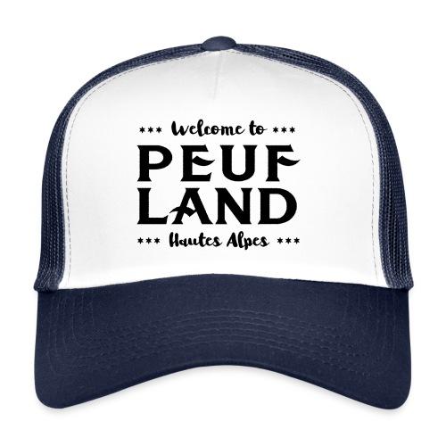 Peuf Land 05 - Hautes-Alpes - Black - Trucker Cap