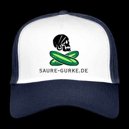 saure-gurke-pirat 01 - Trucker Cap