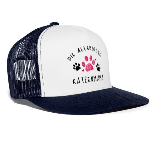 Die allerbeste Katzenmama - Trucker Cap