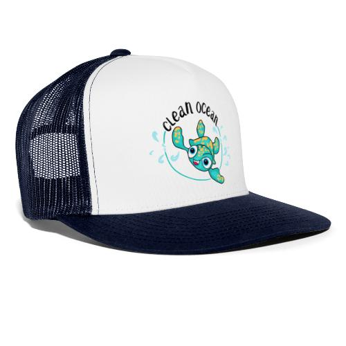 Clean Ocean - Trucker Cap
