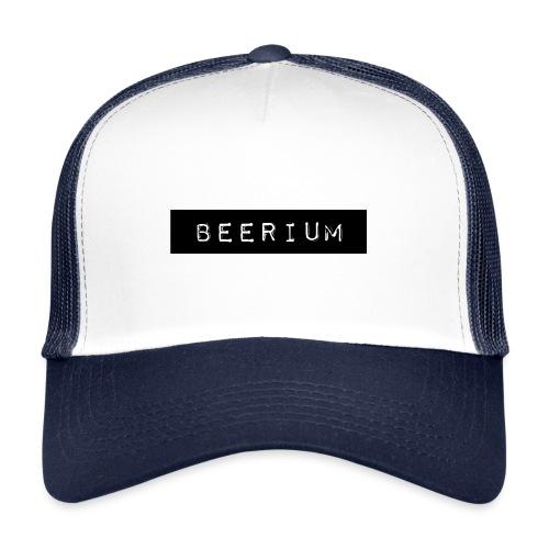 BEERIUM logo svart - Trucker Cap