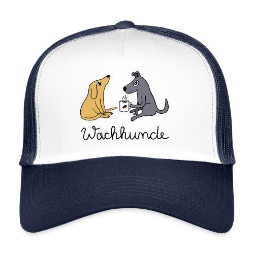 Wachhunde - Nur wach mit Kaffee - Trucker Cap