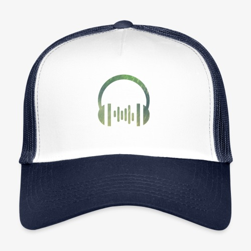 Headphones logo - Trucker Cap