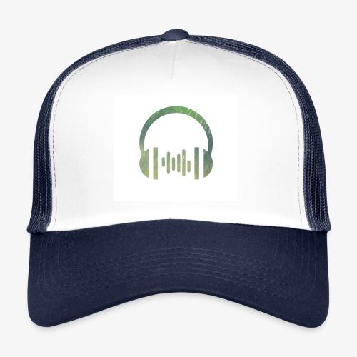Headphones logo - Trucker Cap