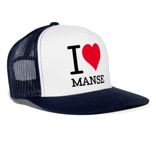 I love Manse - Trucker Cap