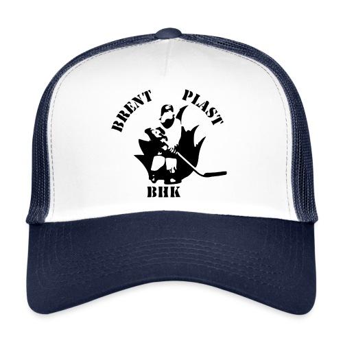 BrentPlastLogo svart png - Trucker Cap