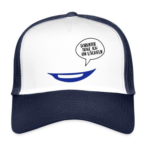 Maske - darunter trage ich ein Lächeln No.71 - Trucker Cap