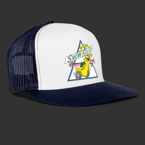 SnowRoller logo - Trucker Cap